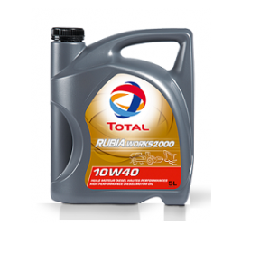 TOTAL RUBIA WORKS 2000 10W-40 (5 л)