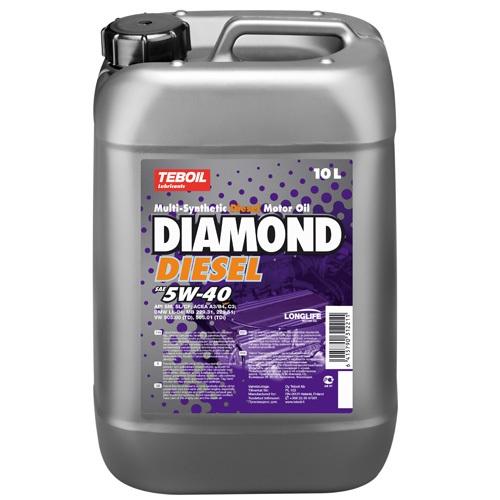 Teboil Diamond Diesel 5W-40 (10 л)
