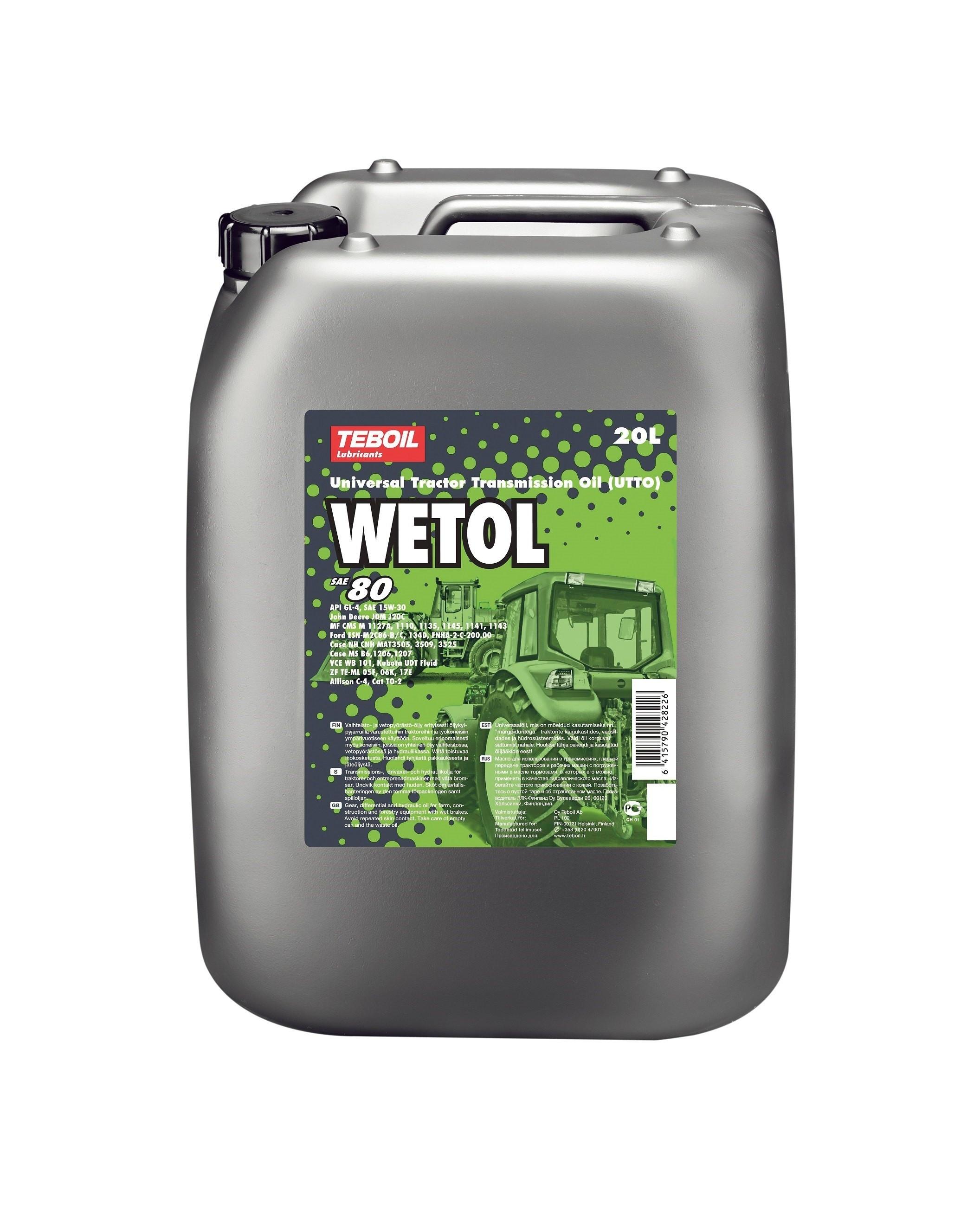 Teboil Wetol 20 л