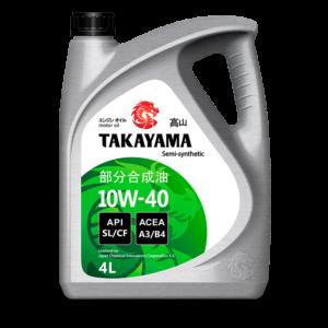 TAKAYAMA 10W-40 API SL/CF 4л