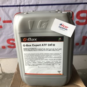 масло g box expert atf dx iii