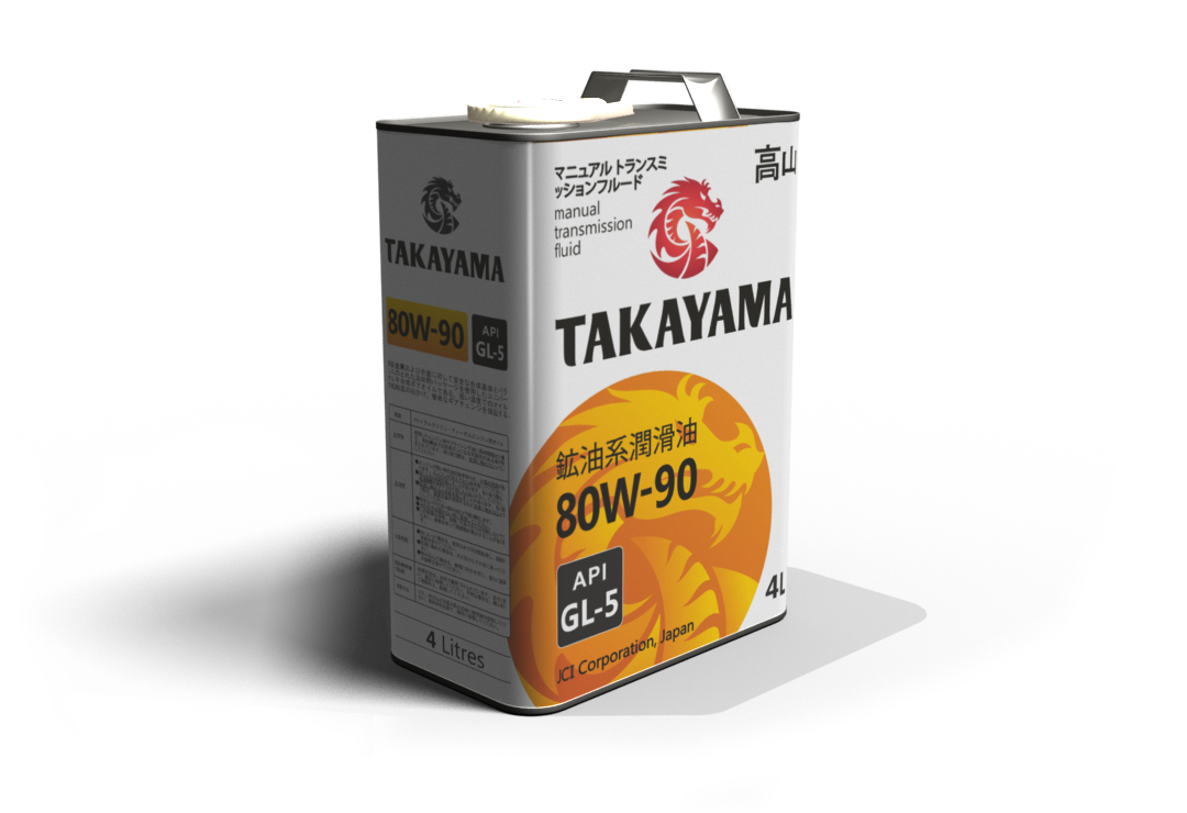 TAKAYAMA 80W-90 GL-5 4л