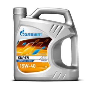Gazpromneft Super 15W-40 4 л