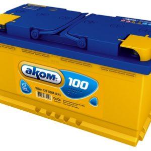 Аккумулятор Аком 100Ah/850 лев.+ /353x177x190/
