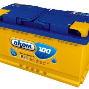 Аккумулятор Аком 100Ah/850 прав.+ /353x177x190/