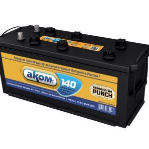Аккумулятор Аком 140Ah/950 лев.+ /513x189x210/