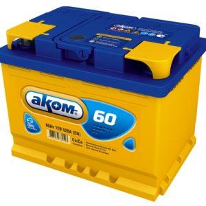 Аккумулятор Аком 60Ah/520 лев.+ /242x177x190/