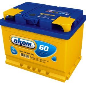 Аккумулятор Аком 60Ah/520 прав.+ /242x177x190/