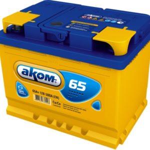 Аккумулятор Аком 65Ah/580 лев.+ /242x177x190/