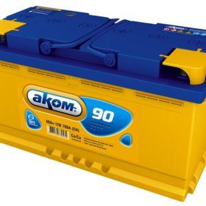 Аккумулятор Аком 90Ah/780 лев.+ /353x177x190/