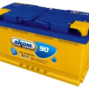 Аккумулятор Аком 90Ah/780 прав.+ /353x177x190/