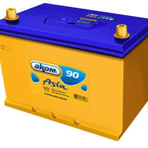 Аккумулятор Аком Asia 90Ah/790 лев.+ /305x173x225/