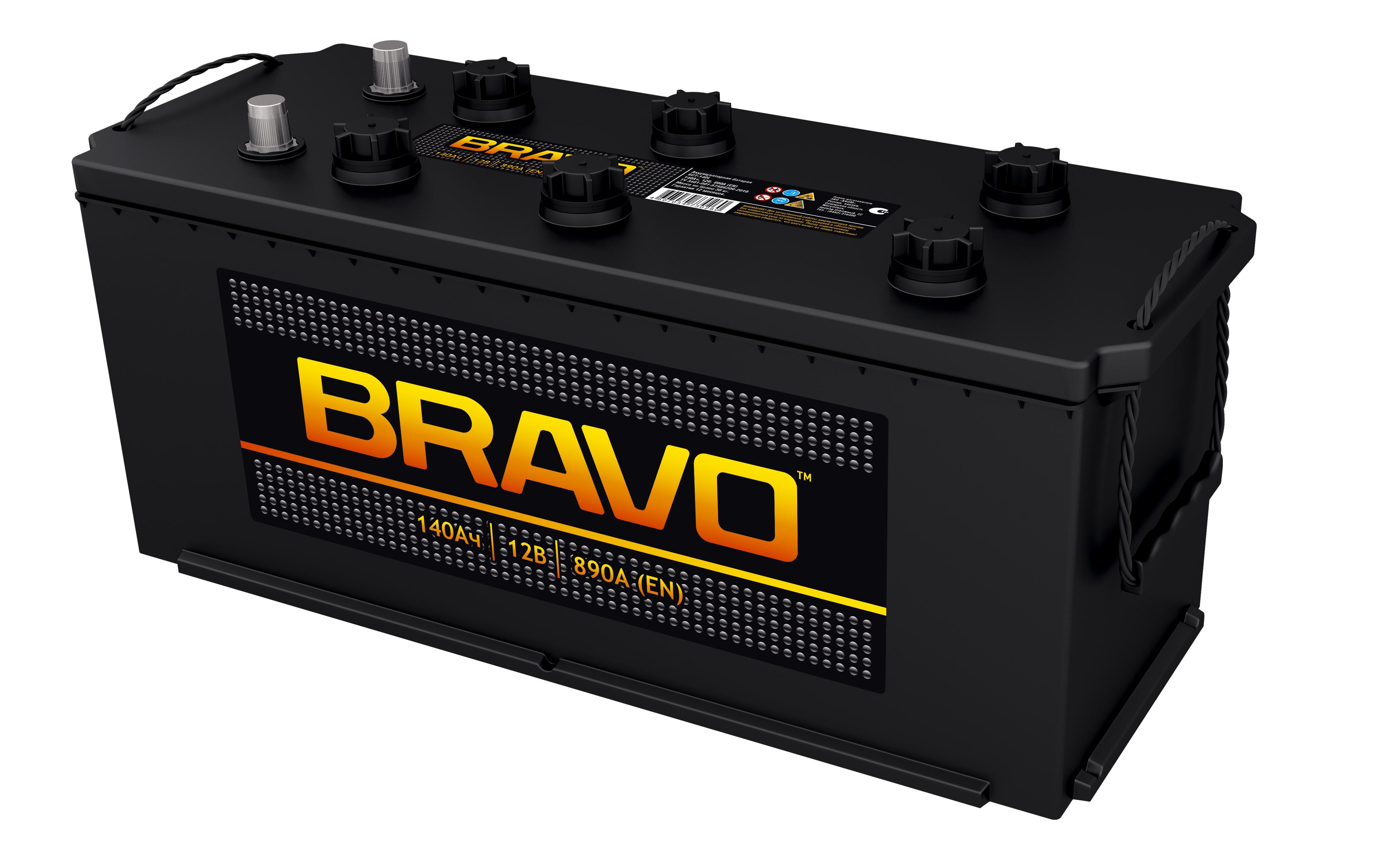 Аккумулятор Аком Bravo 140Ah/890 лев.+ /511x182.5x239/