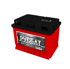 Аккумулятор Русбат 60Ah-480 лев.+