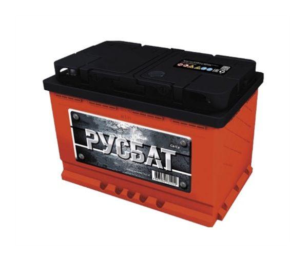 Аккумулятор Русбат 90Ah-760 прав.+
