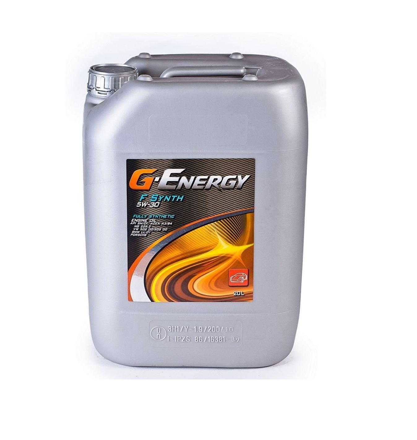 G-Energy F Synth 5W-30 (20 л)