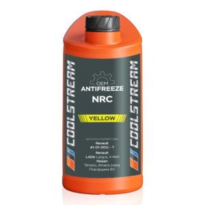 Антифриз CoolStream NRC желтый (1 кг)