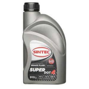 Тормозная жидкость Sintec SUPER DOT-4 tk 250°С