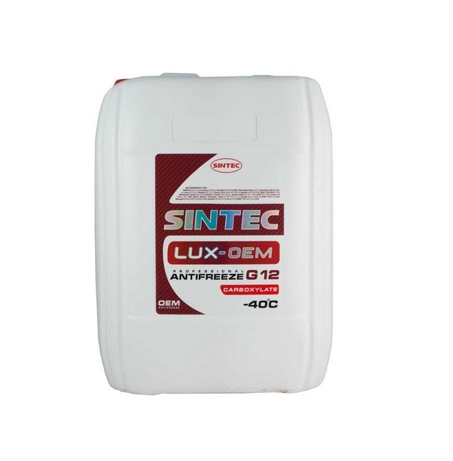 Sintec ANTIFREEZE LUX (красный) G12 (20 кг)