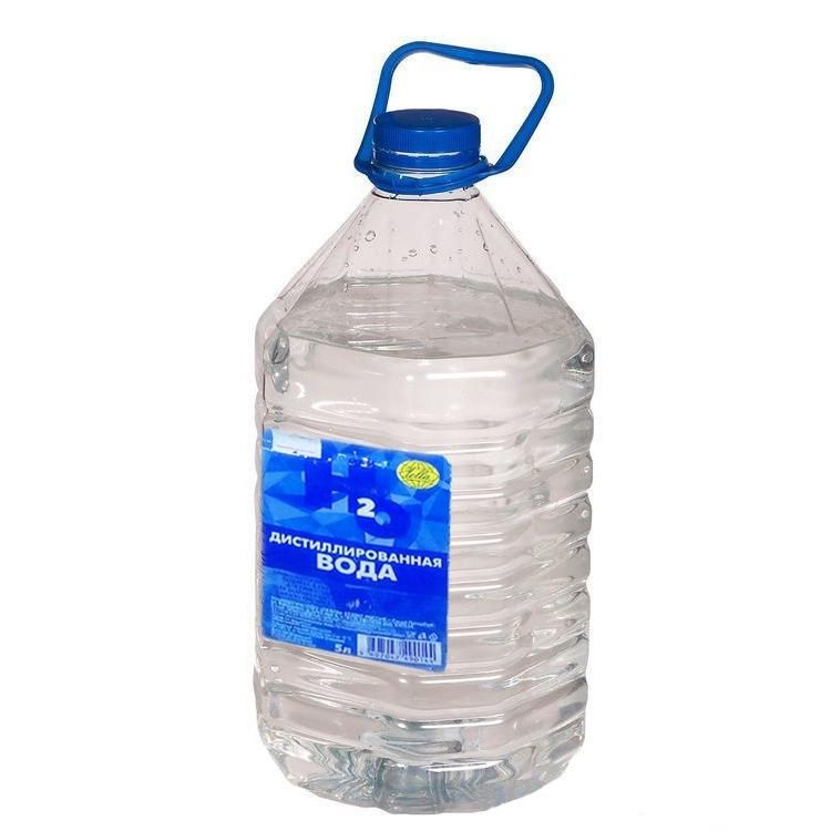Дистиллированная вода H2O 5 л