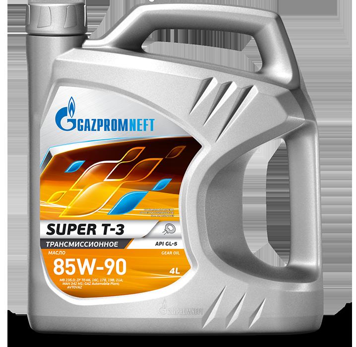 Gazpromneft Super T-3 85w-90 GL-5 4л