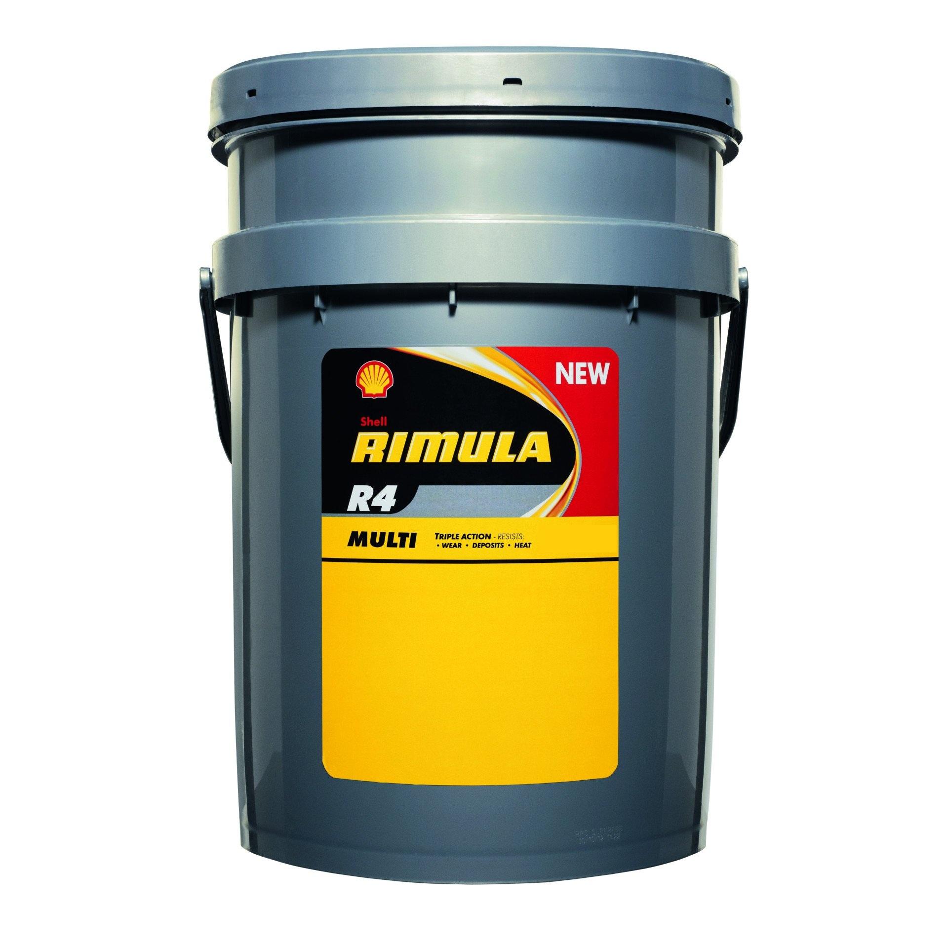 Shell Rimula R4 Multi 15W-40 20л