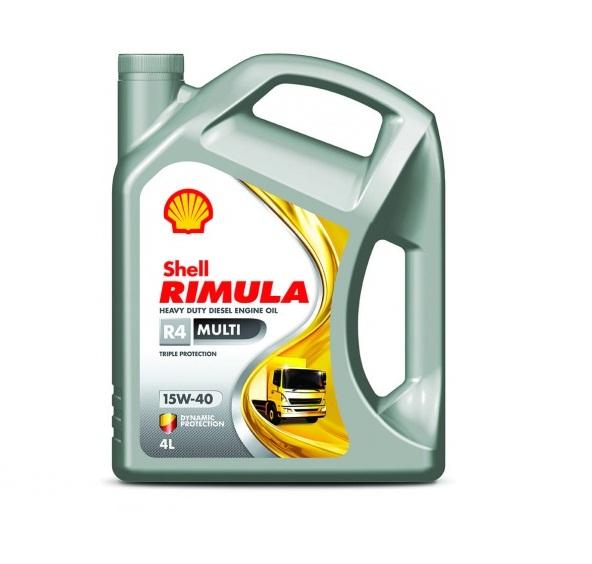 Shell Rimula R4 Multi 15W-40 4л