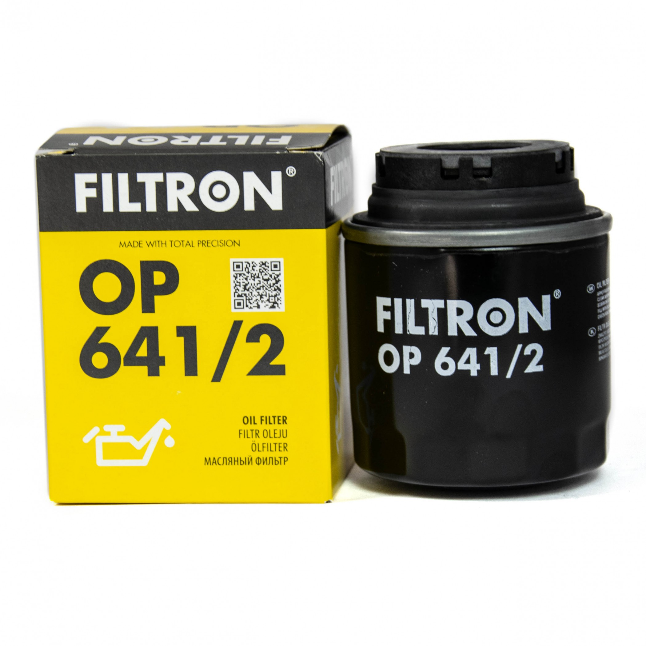 Filtron OP 641/2 фильтр масляный